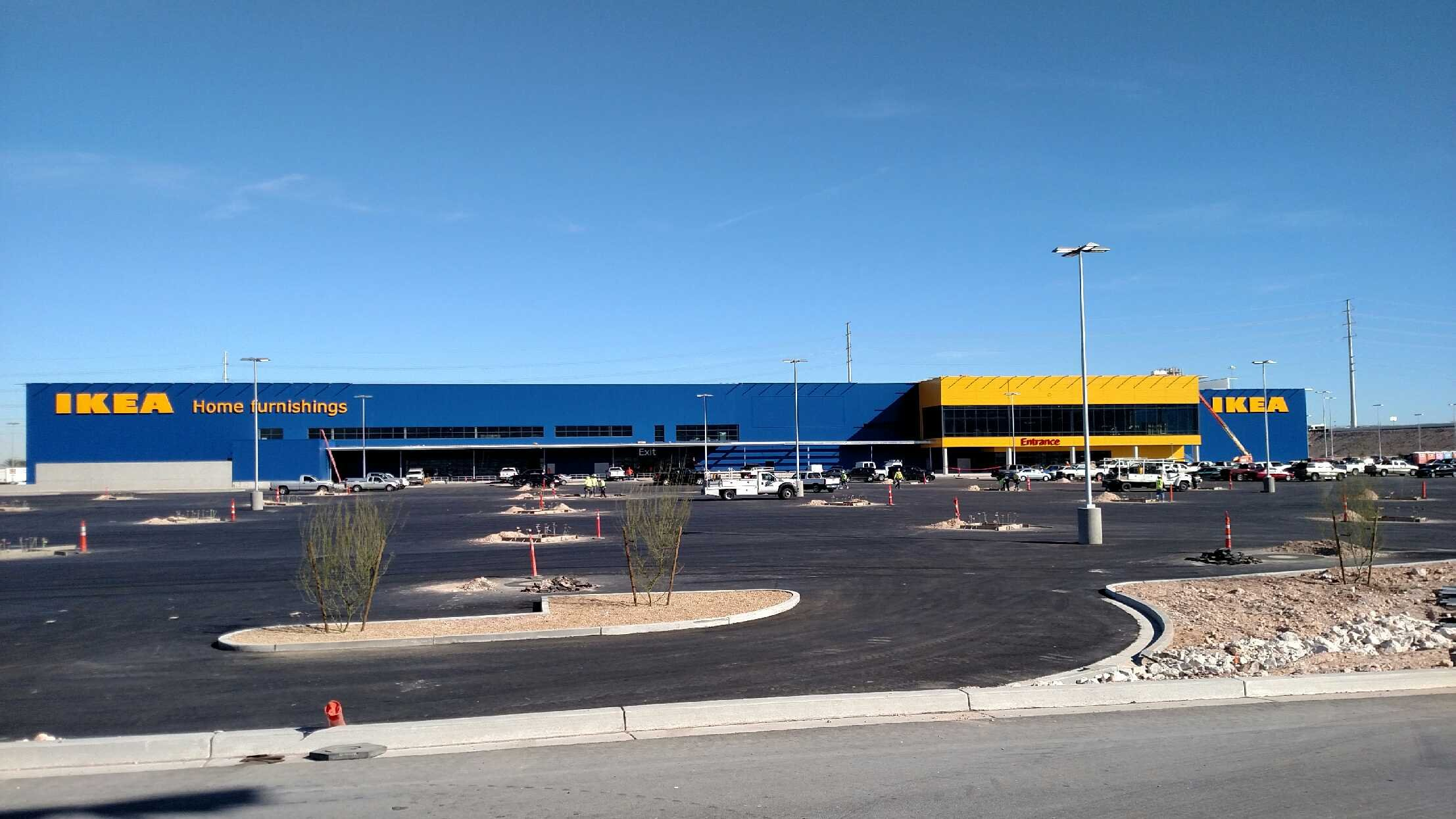 The Exterior Of The Las Vegasu0027 IKEA Location Near Durango Drive And The 215  Beltway