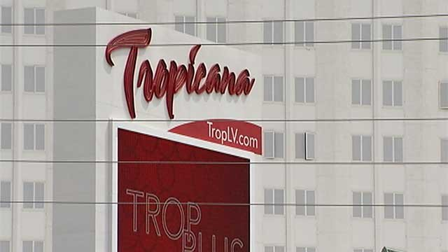The marquee of the Tropicana hotel-casino on the Las Vegas Strip is seen in this undated photo. (FOX5)