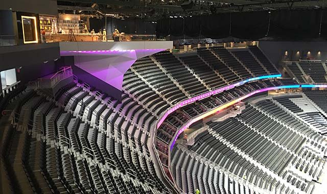 Finishing Touches Put On TMobile Arena  FOX5 Vegas  KVVU