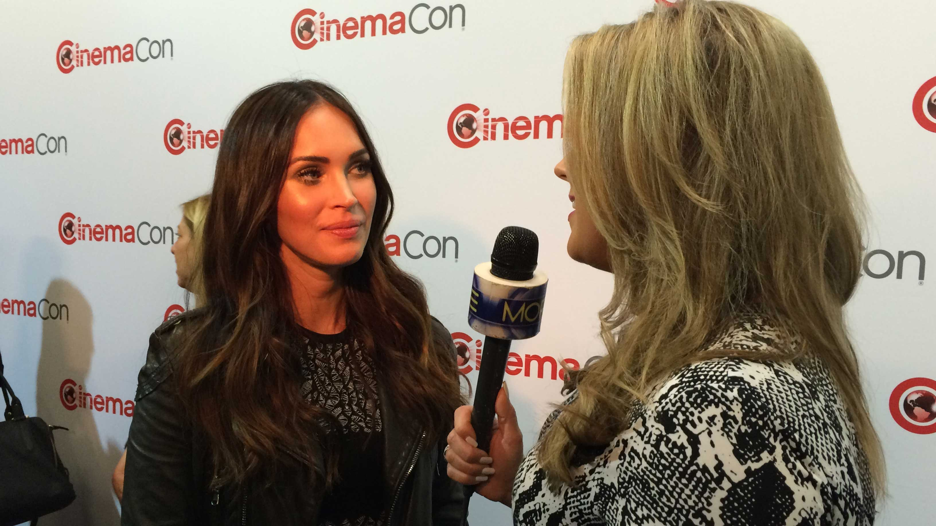Megan Fox at CinemaCon at Caesars Palace on April 11, 2016. Photo taken by Jon Archuleta/MORE FOX5