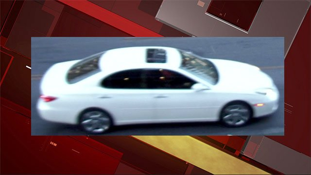 Police released a surveillance image of a vehicle in connection to a shooting on May 29, 2016. (Source: LVMPD)