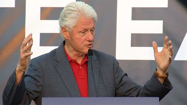 Bill Clinton speaks at an event. (File)