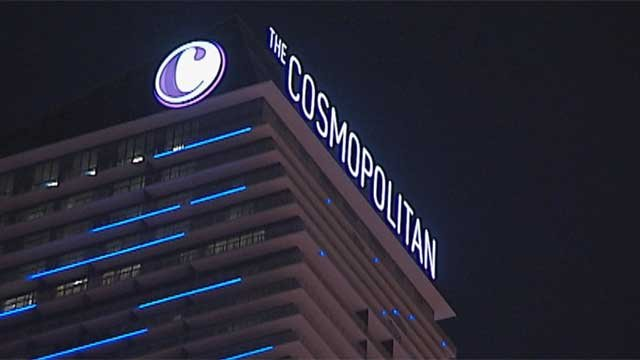 The Cosmopolitan of Las Vegas will begin to charge for parking on May 16, 2017. (FOX5 FILE)