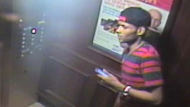 Surveillance still of a man believed to be responsible for a sexual assault at an east Valley hotel on Aug. 6, 2016. (Source: LVMPD)
