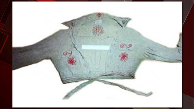 A photo of Jane Sahara Doe's blouse she was wearing when police found her body on Aug. 14, 1979. (SOURCE: LVMPD)