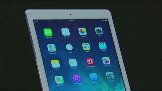 An iPad appears in this file image. (Source: File/FOX5)