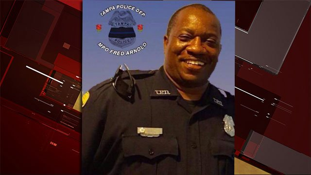 Master Patrol Officer Fred Arnold II (Source: Tampa Police Department/Facebook)