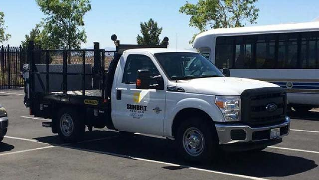 Truck stolen by Alonso Perez (Source: NLVPD)