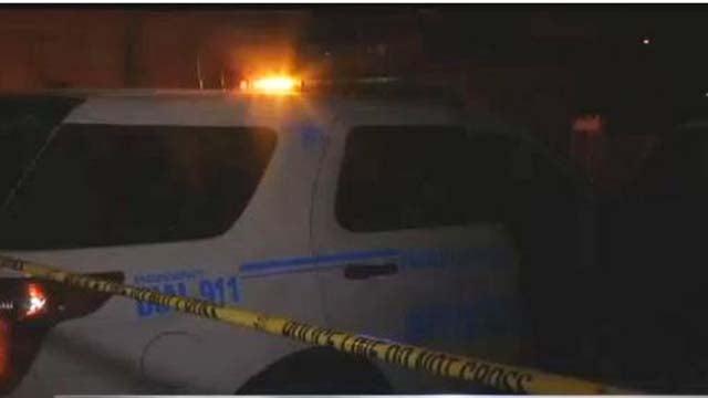 North Las Vegas police investigating fatal shooting on Sept. 18, 2016. (Kathleen Jacob/FOX5)