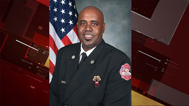 North Las Vegas Fire Capt. Yaphet Miller appears in this undated image. (Source: North Las Vegas Fire Dept.)