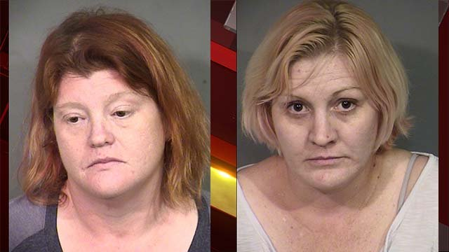 Kendra Hatch, left, and Mylynda Hatch. (Source: LVMPD)