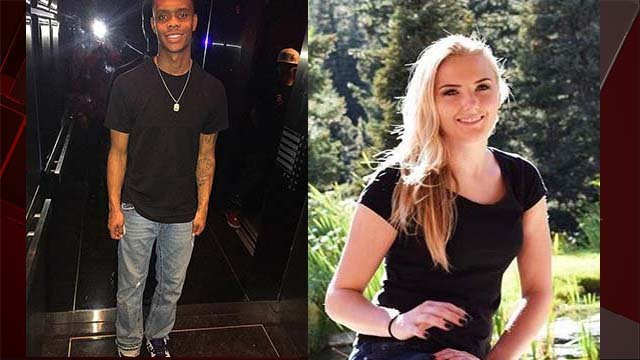 Homicide victims Neo Kauffman and Sydney Land appear in undated images. (Source: FOX50