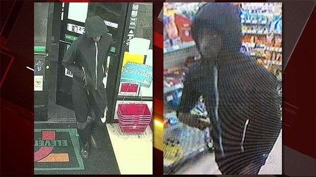 Police say the person in the picture is responsible for multiple robberies in the east and south sides of the Las Vegas Valley on Nov. 8 and Nov. 12, 2016. (Source: LVMPD)