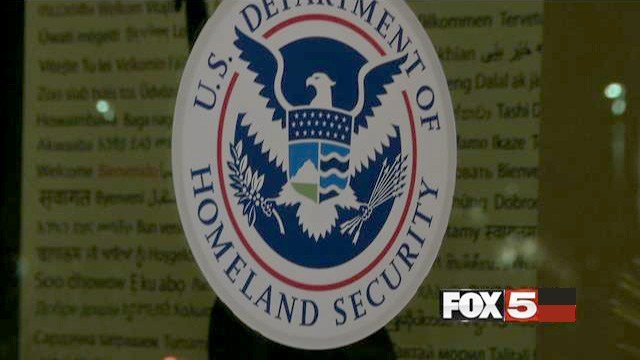 The seal of the Department of Homeland Security is shown in this undated photo. (FOX5)