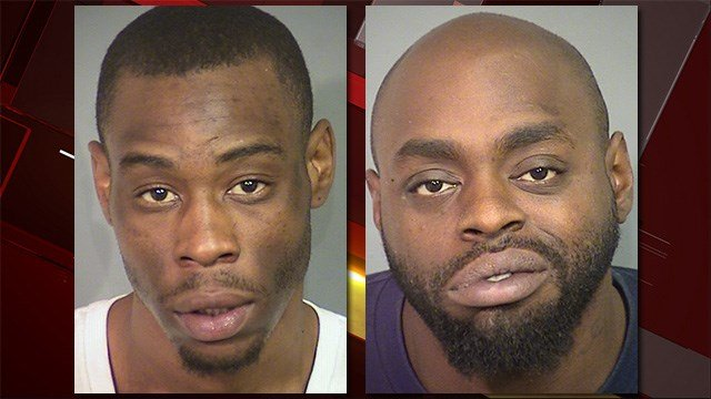 Deshawn Daniels, left, and Daveon Hayes, right. (LVMPD)