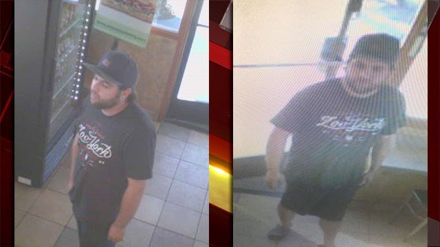 Police released images of a man suspected of robbing a local business on Nov. 17, 2016. (Source: LVMPD)