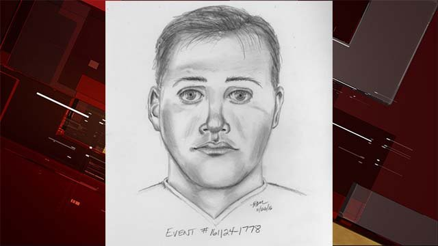 Composite sketch of suspect. (Courtesy: LVMPD)