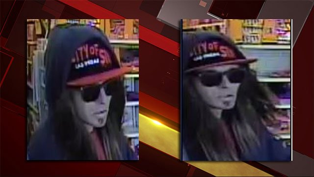 Police released images of a man suspected of robbing a business on Nov. 2, 2016. (Source: LVMPD)