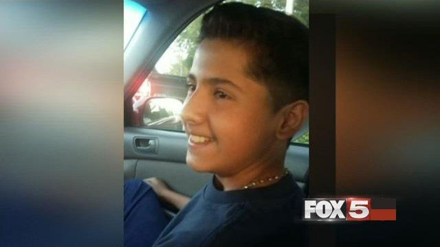 Fabriccio Patti, 13, died when a clerk shot him during an attempted theft on Dec. 2, 2016.