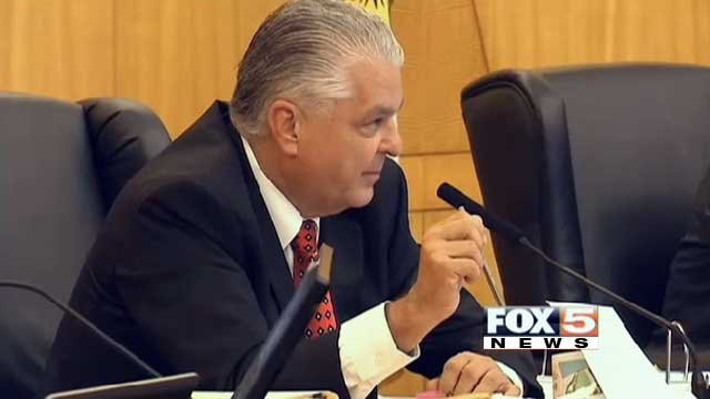 Clark County Commissioner Steve Sisolak is shown in an undated image. (File/FOX5)