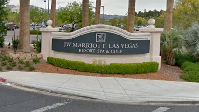 A sign welcomes folks to JW Marriott Las Vegas Resort & Spa. (Source: Google Maps)