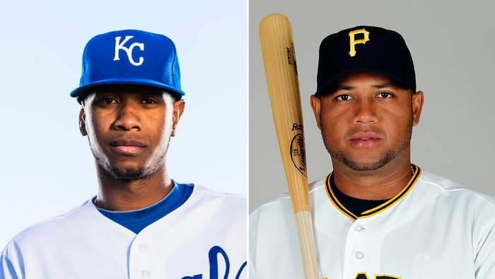 Yordano Ventura, left, and Andy Marte died is seperate car crashes.