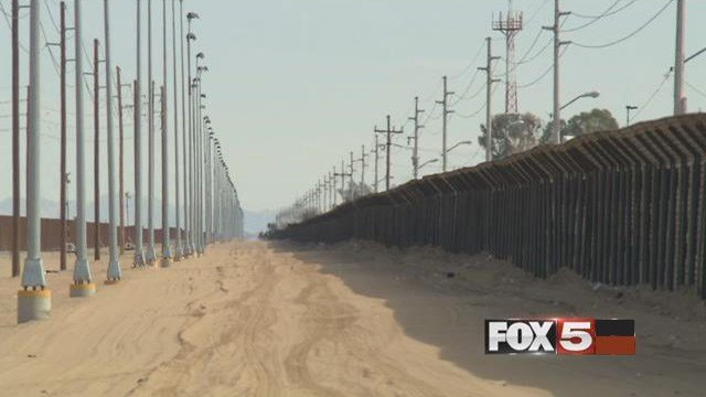 President Trump signed an executive action that will fast track the building of a wall along the U.S. border with Mexico.
