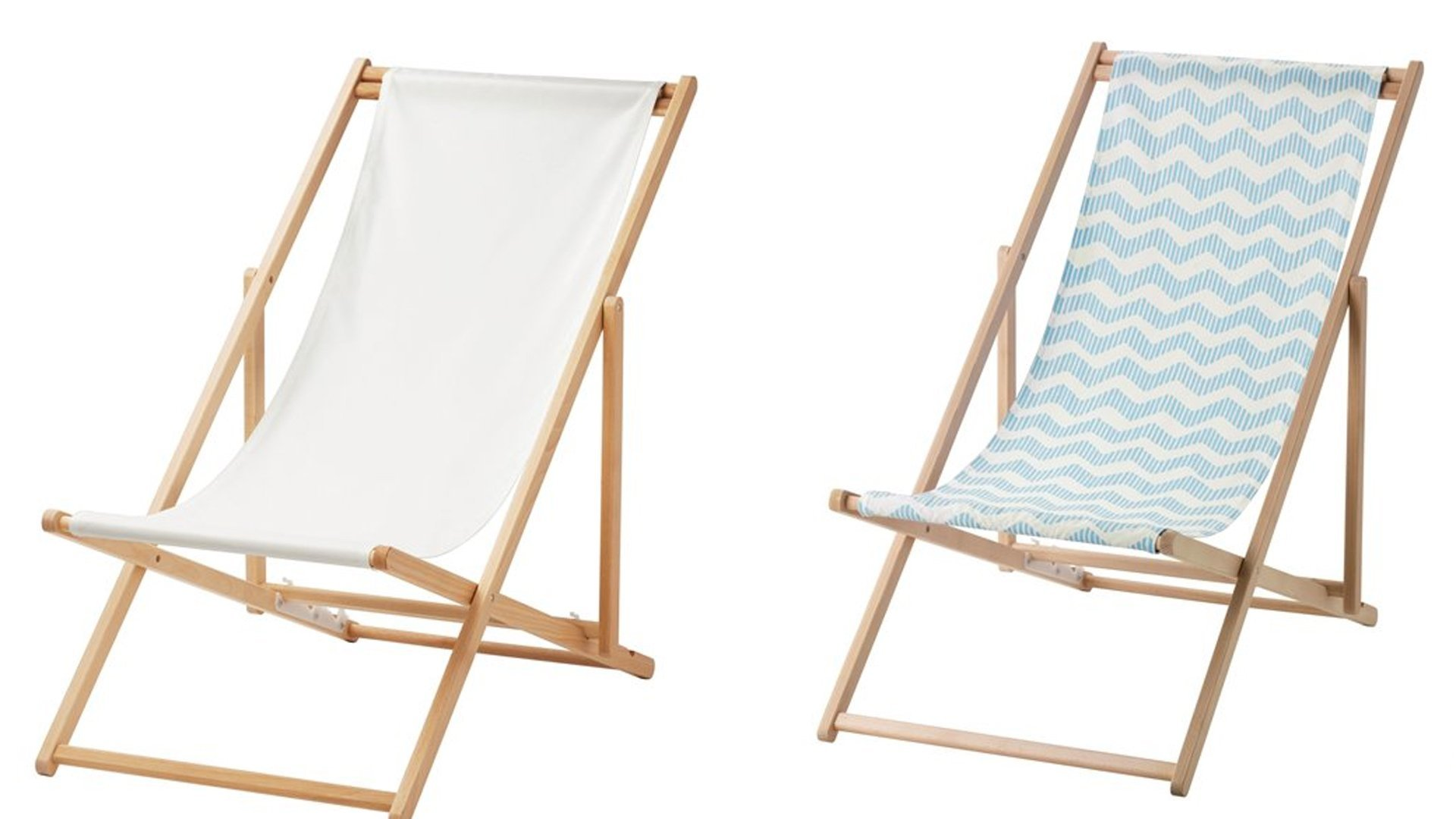 Swedish-based retailer IKEA recalled its line of folding beach chairs due to an amputation hazard to fingertips. (Source: IKEA)