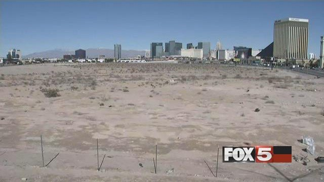 The Raiders prefer the plot just off Russell Road due to their opportunity to own the land rather than lease it. (FOX5)