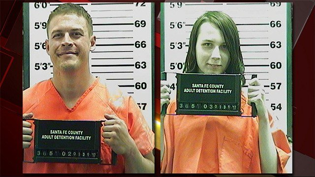 Jack Morgan, left, and Samuel Brown, right. (Source: Santa Fe County Adult Detention Center)