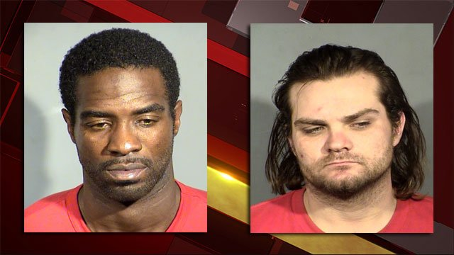 Anthony Newton (right) and George Macaperdas (left) (Source: LVMPD)