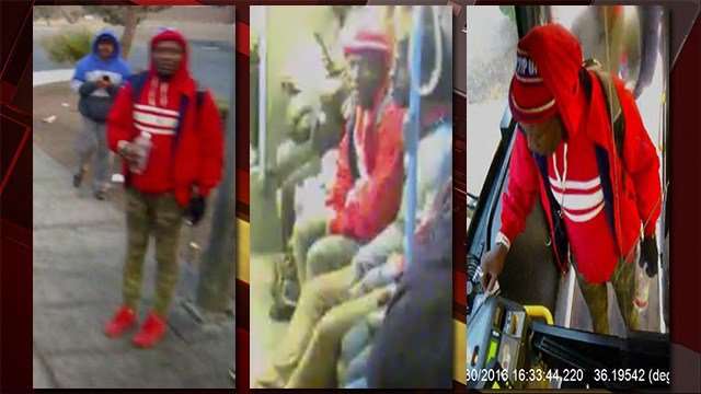 Police released images of a potential witness to a homicide on Dec. 30, 2016. (Source: NLVPD)