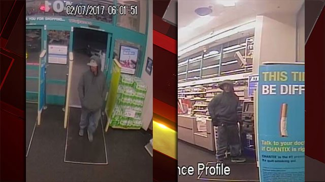 Henderson police released images of the suspect. (Source: Henderson police)