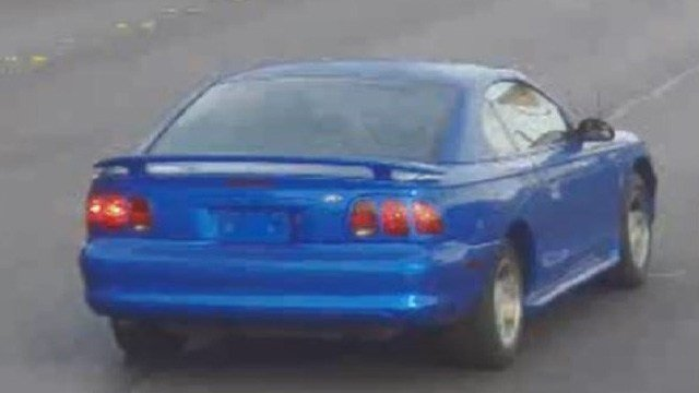 Police released an image of a vehicle also believed to be involved in the incidents. (Source: LVMPD)