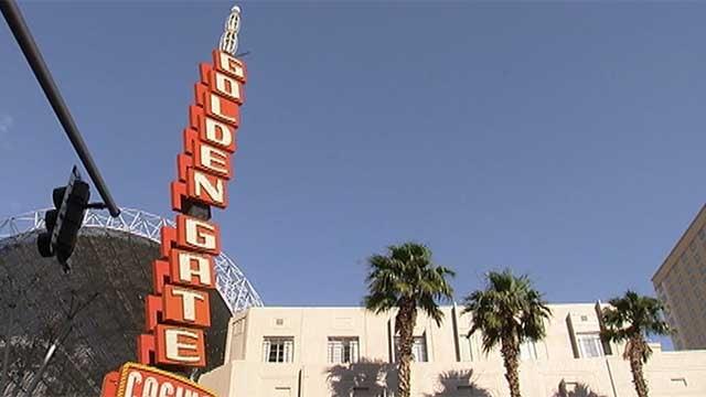 Du-Par's is located inside the Golden Gate hotel-casino on Fremont Street. (FOX5)