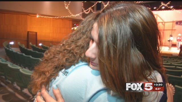 A Centennial High School teacher saved a choking student in class.