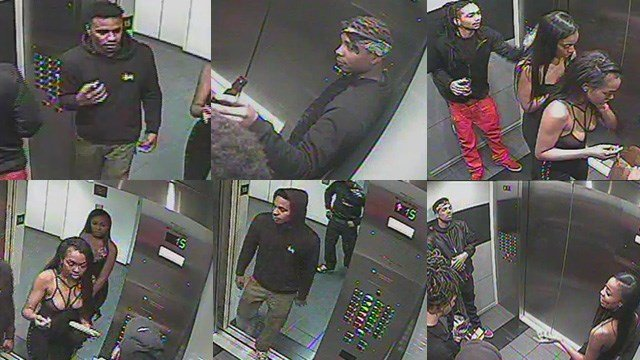 Police disclosed images of a group believed to have taken part in a robbery at a Las Vegas Strip hotel on Jan. 28, 2017. (Source: LVMPD)