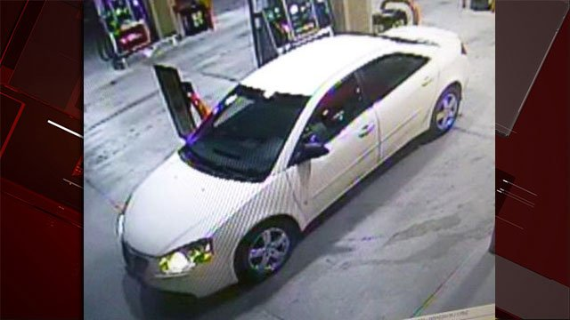 Police released an image of the vehicle the suspect wanted for indecent exposure used. (Source: NLVPD)