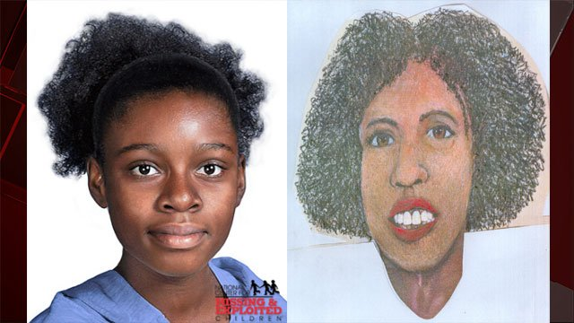 Reconstructed images of a girl found near Hoover Dam on Sept. 28, 2016/. (Source: MCSO)