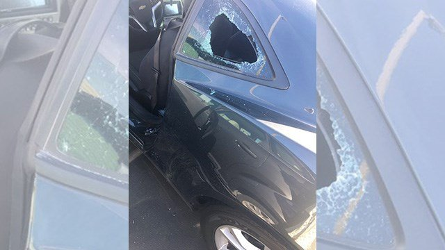 At least 13 cars were broken into at UNLV.