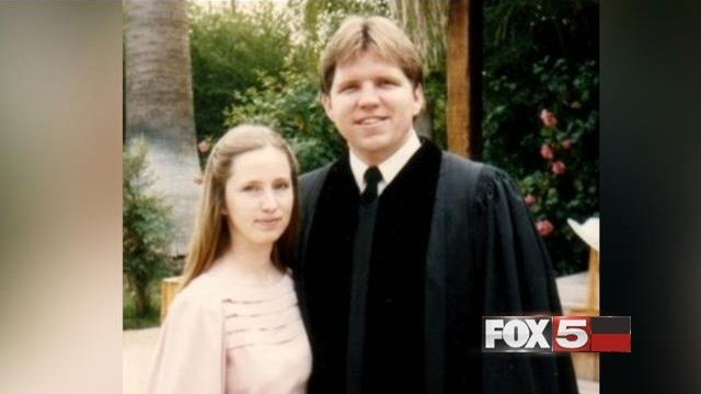 Mark Fisher, right, said he spent 17 years in the Church of Scientology.