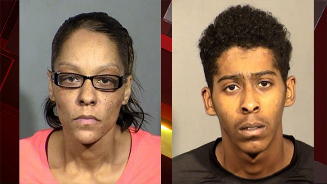 Tianna Thomas (left) and Richard Newsome (right) (Source: LVMPD)