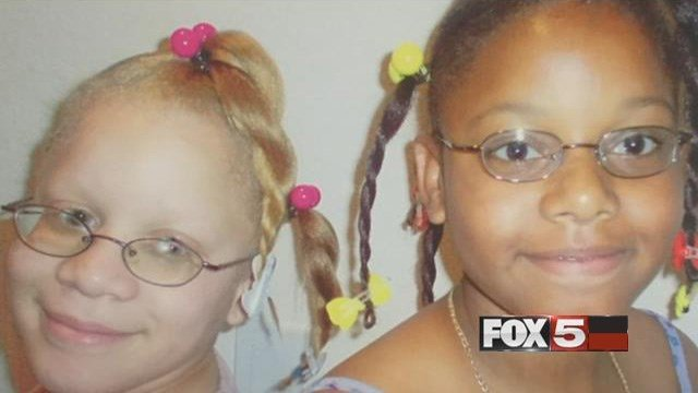 The Atkinson twins at a younger age. (FOX5)
