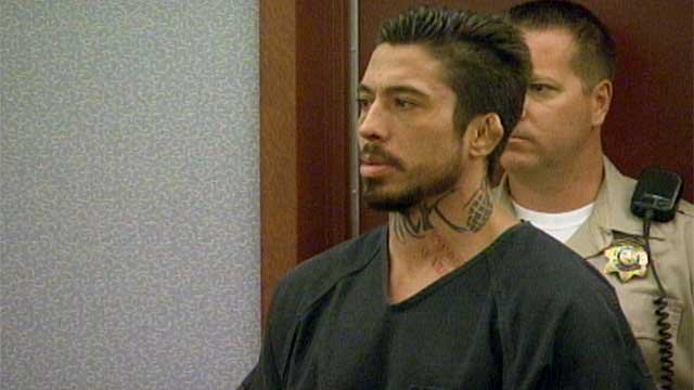 Mixed-martial arts fighter War Machine appears in a court room in this undated photo. (FOX5)