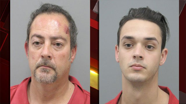 From left to right, Jeffrey James and Jessy James. (Henderson police)