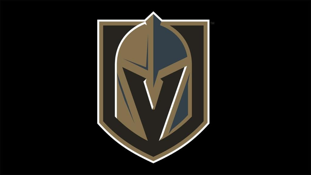 The emblem for the Vegas Golden Knights.