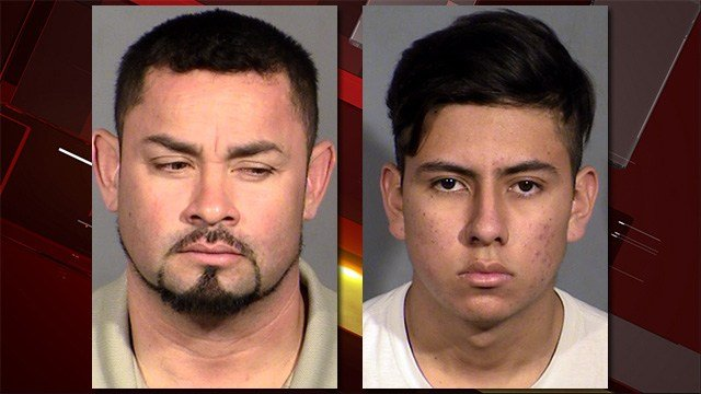 Leby Gomez, left, and Jose Henriquez, right. (LVMPD)