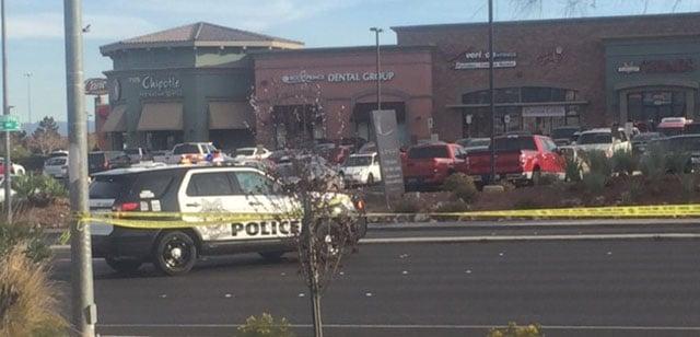 Metro at the scene of a fatal pedestrian crash (FOX5).
