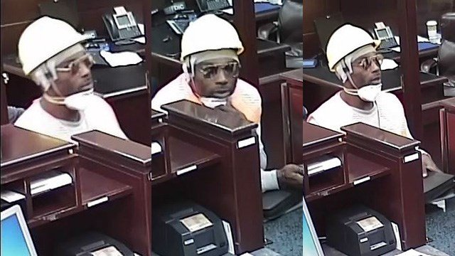 Police said the robber held up a bank within a grocery store in the 9300 block of West Flamingo Road on March 9, 2017. (Source: LVMPD)