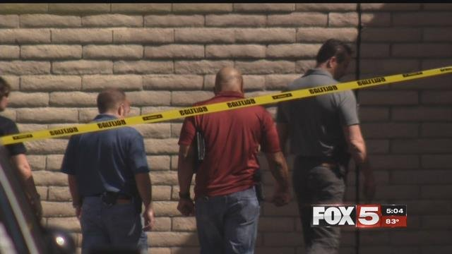 A teen's burned body was found near Lake Mead and Rainbow Boulevards.